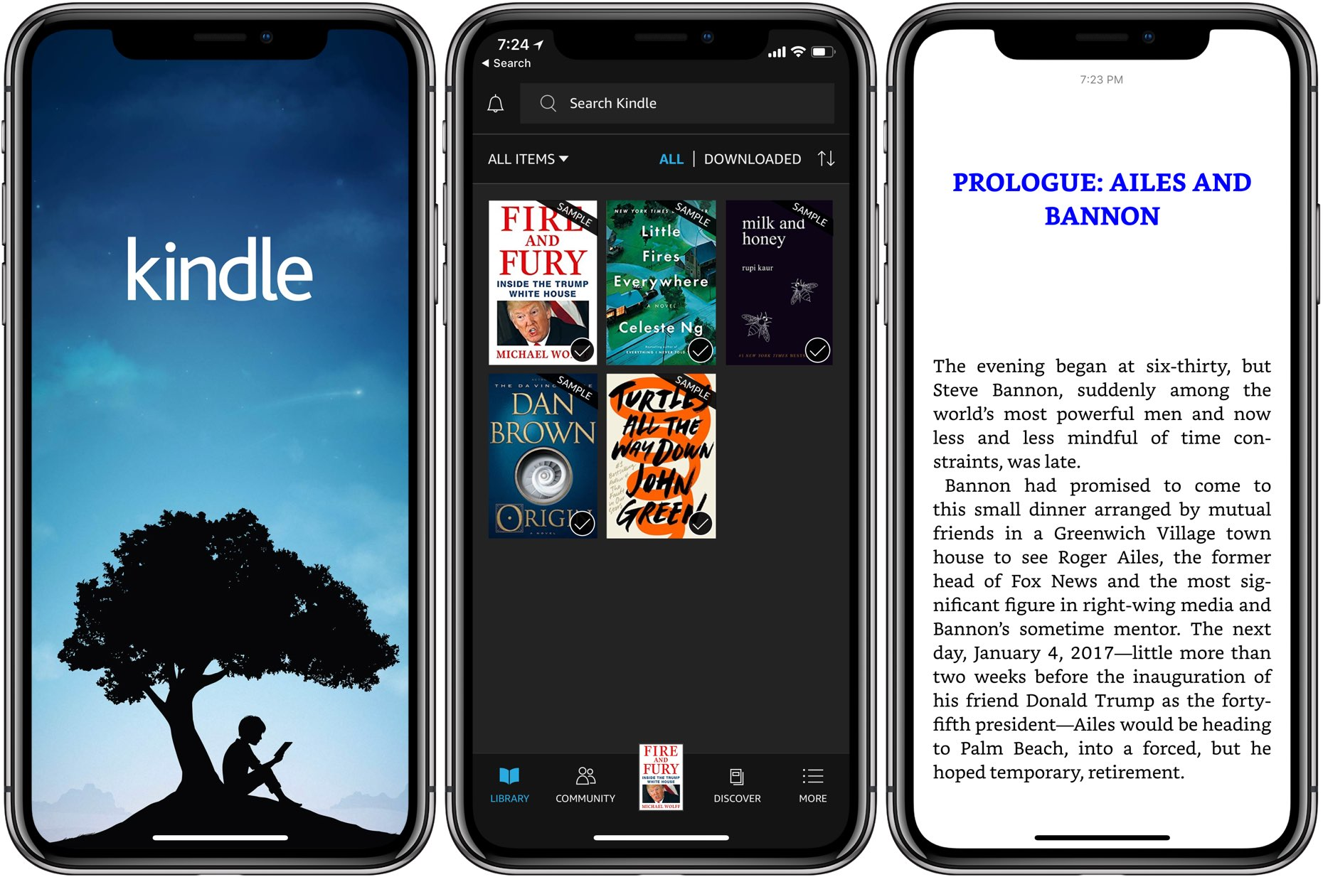 Is The Kindle App Free On Iphone