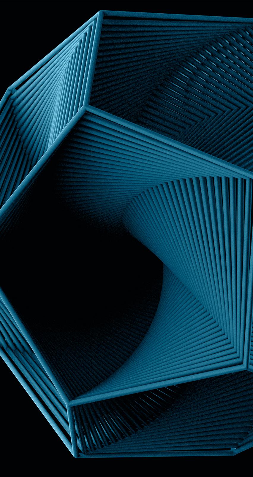 Geometric Outbreak design wallpapers