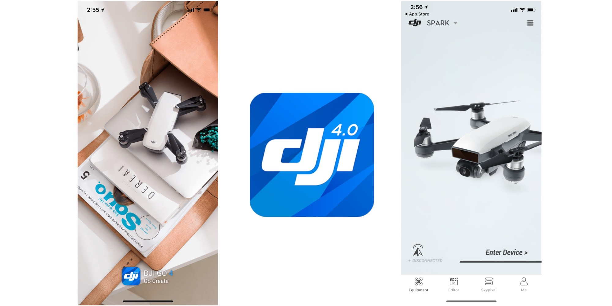 DJI app gets updated for iPhone X, brings updates for Spark