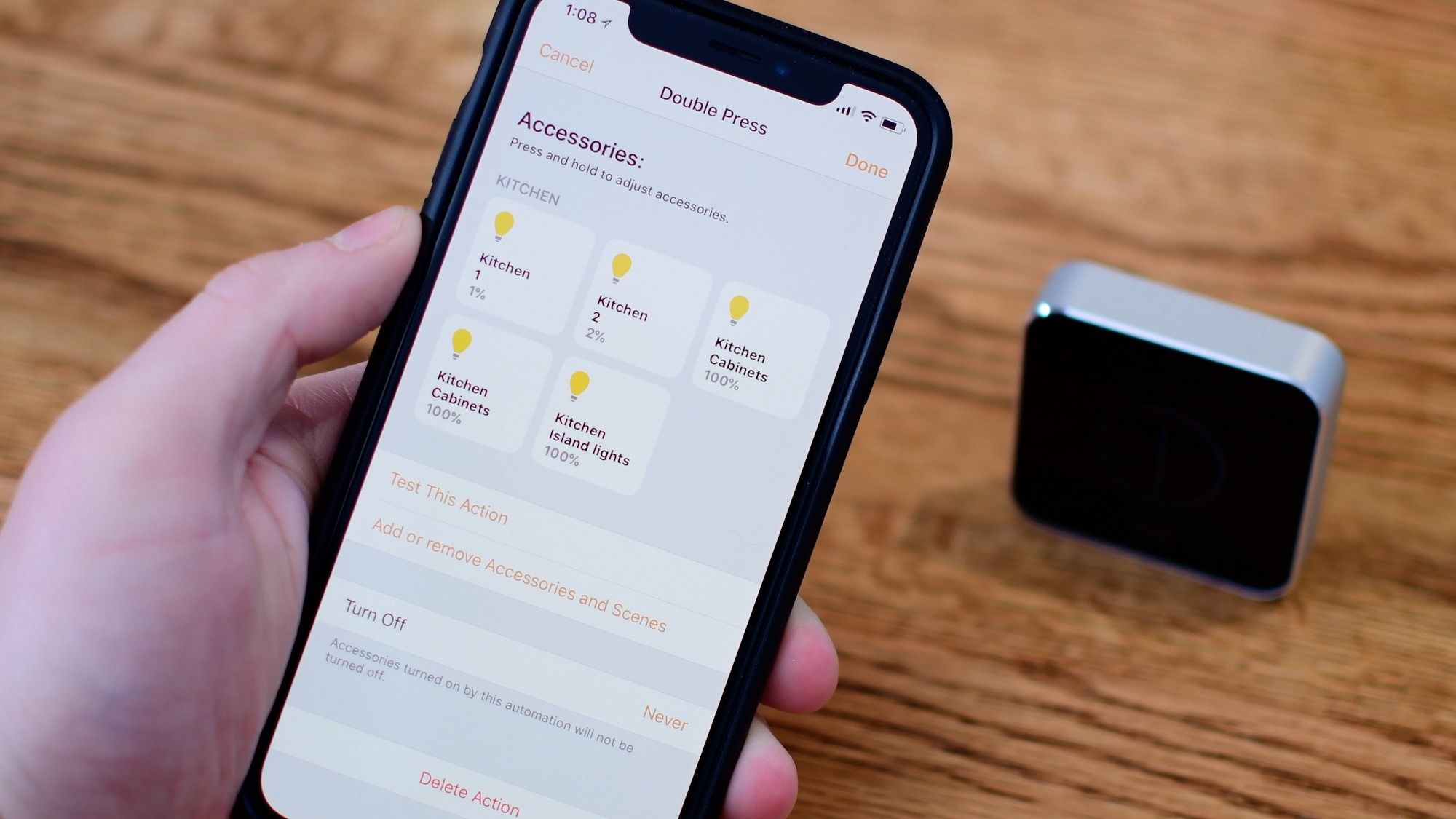 Elgato's Eve Button works with HomeKit