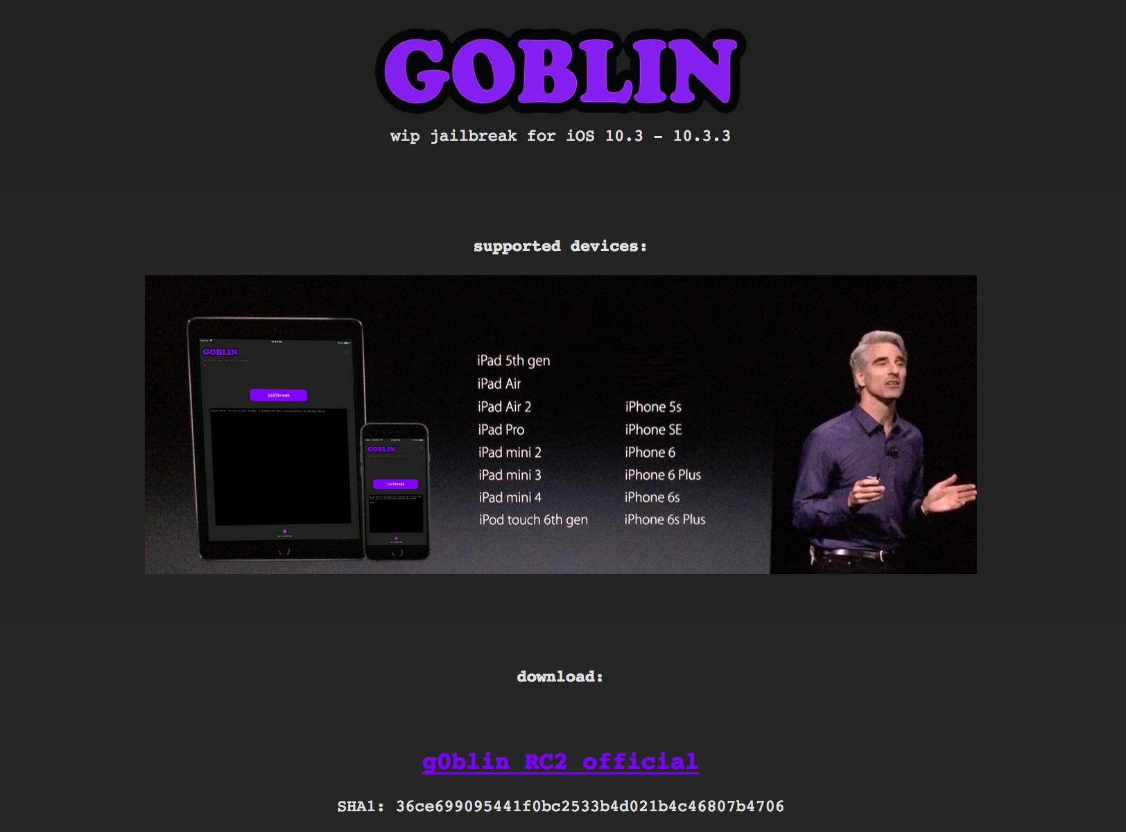 goblin jailbreak