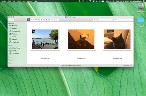 How to quickly resize multiple images at once on Mac