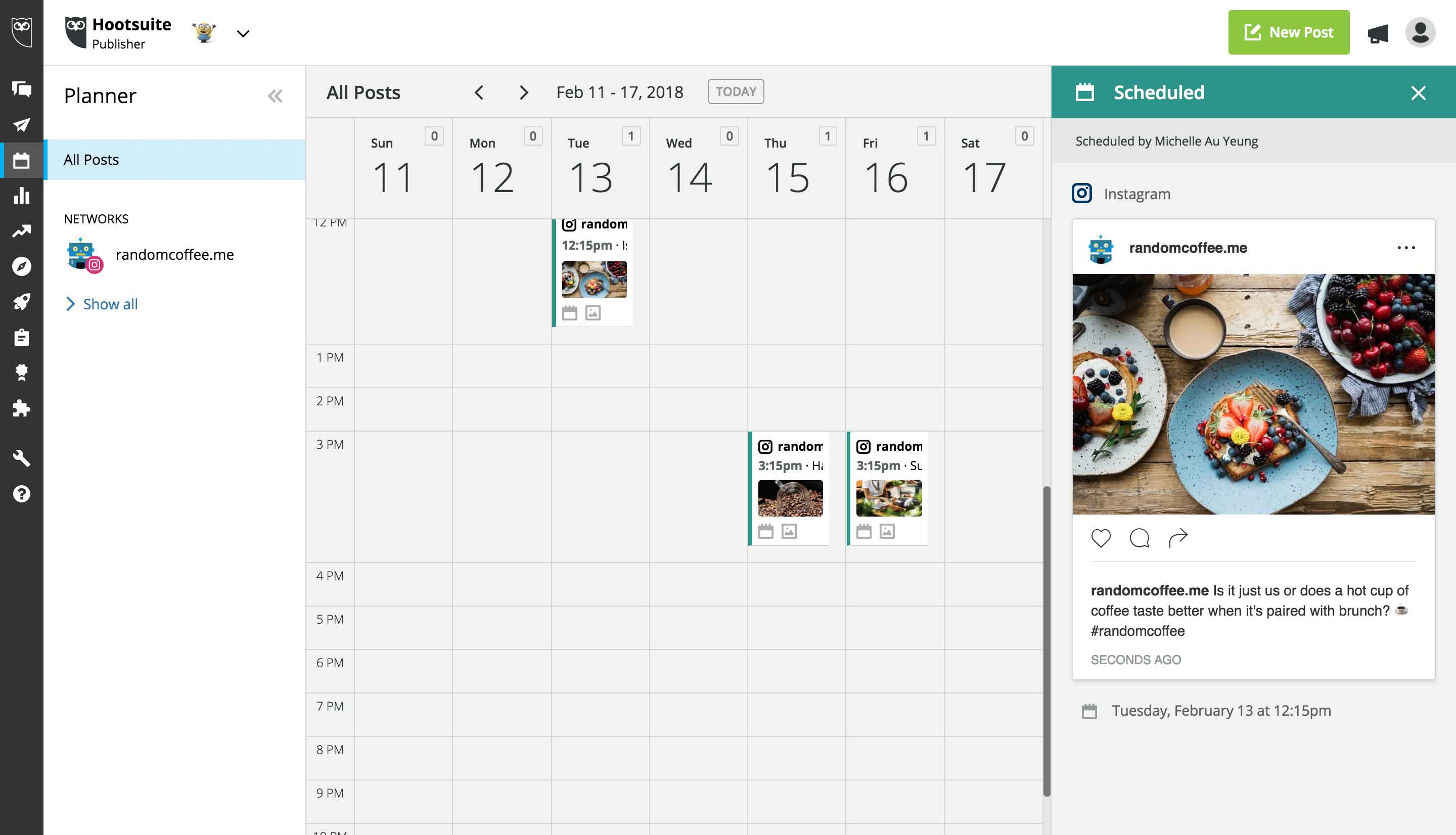 Instagram introduces post scheduling for business accounts