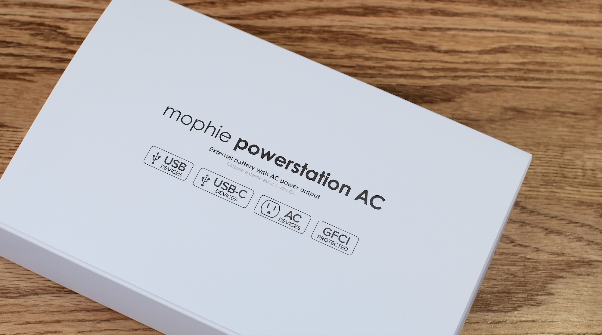 finest selection 8813f f0e1a Review: Mophie's new Powerstation delivers juice using USB-C PD ...