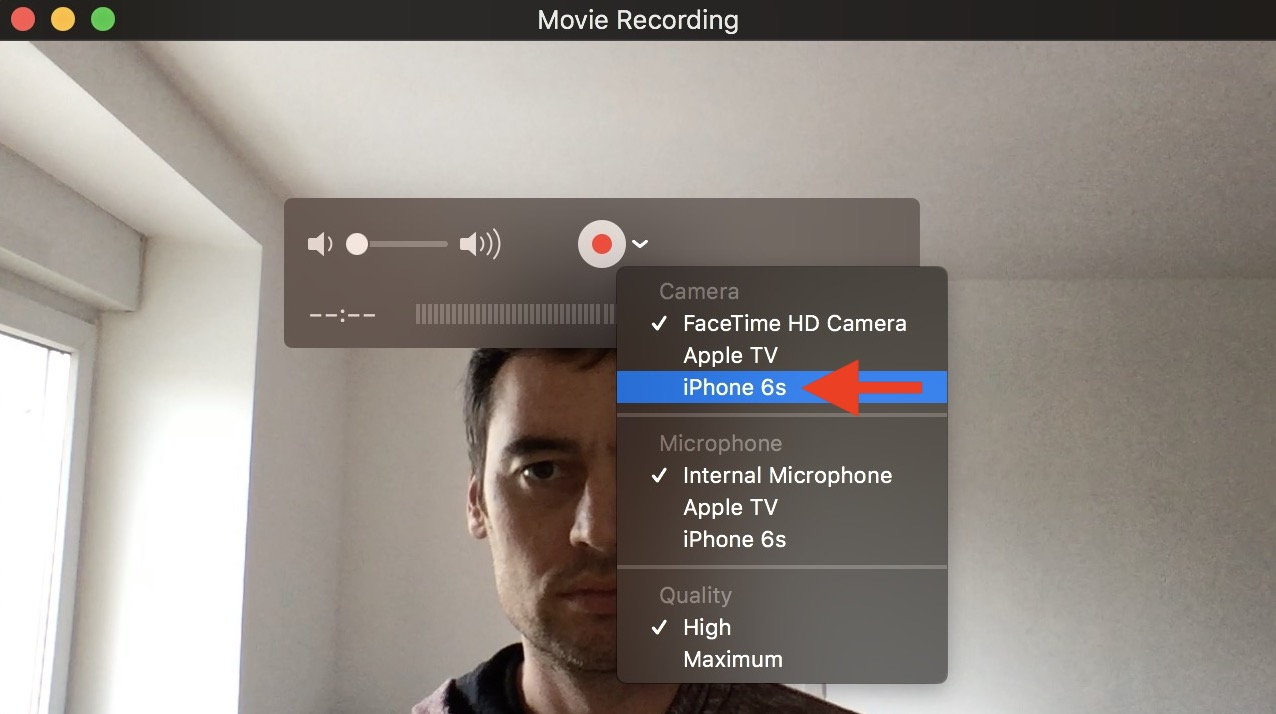 Record FaceTime calls on iPhone