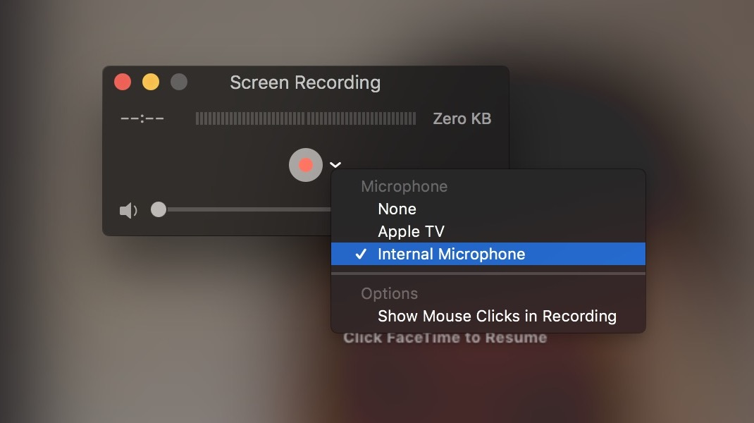Record FaceTime calls on Mac