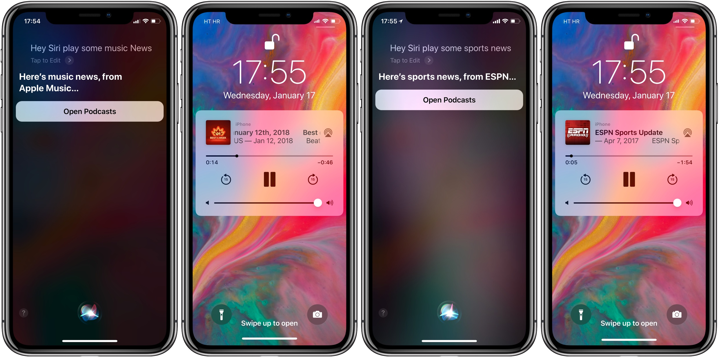 how to use siri news
