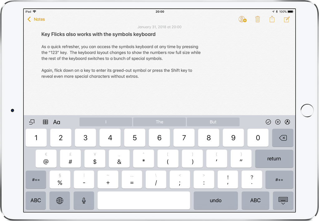 How To Type Faster On Ipad With Key Flicks
