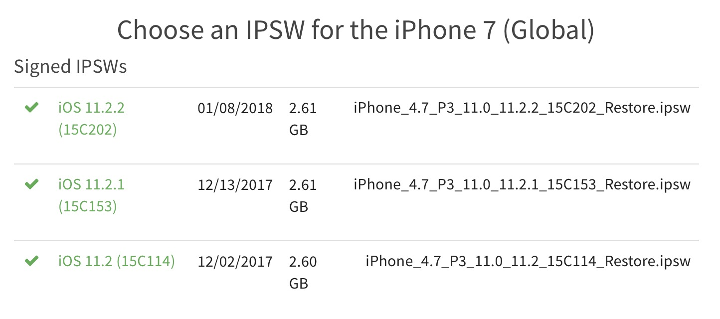 Apple unexpectedly begins signing jailbreakable firmware