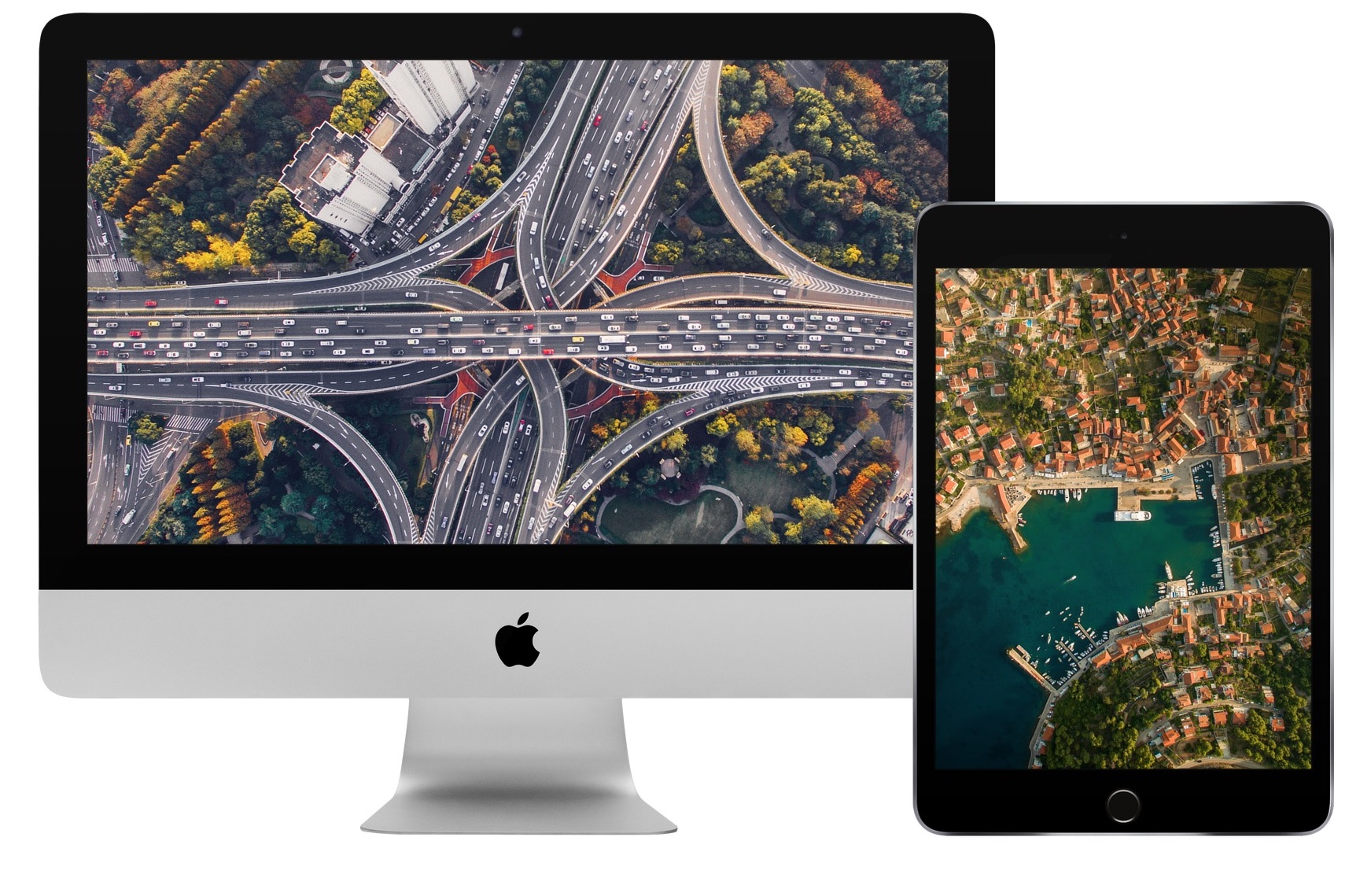 Aerial wallpapers for iphone and desktop