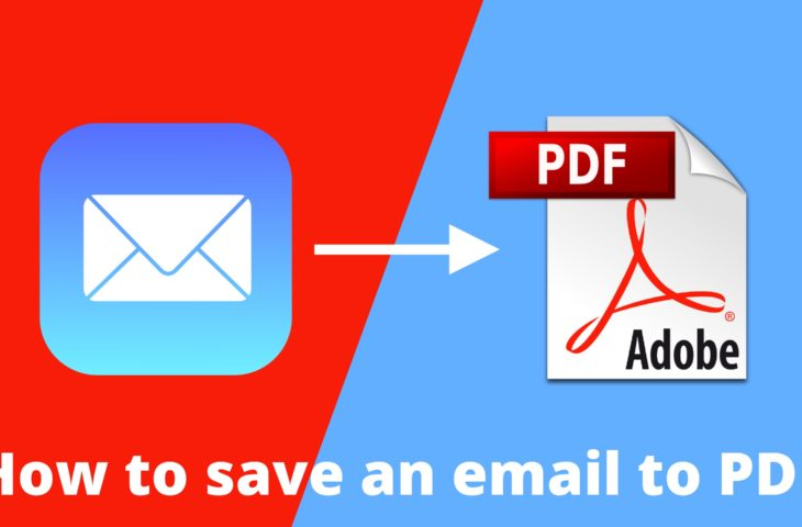 how to download individual emails as pdfs