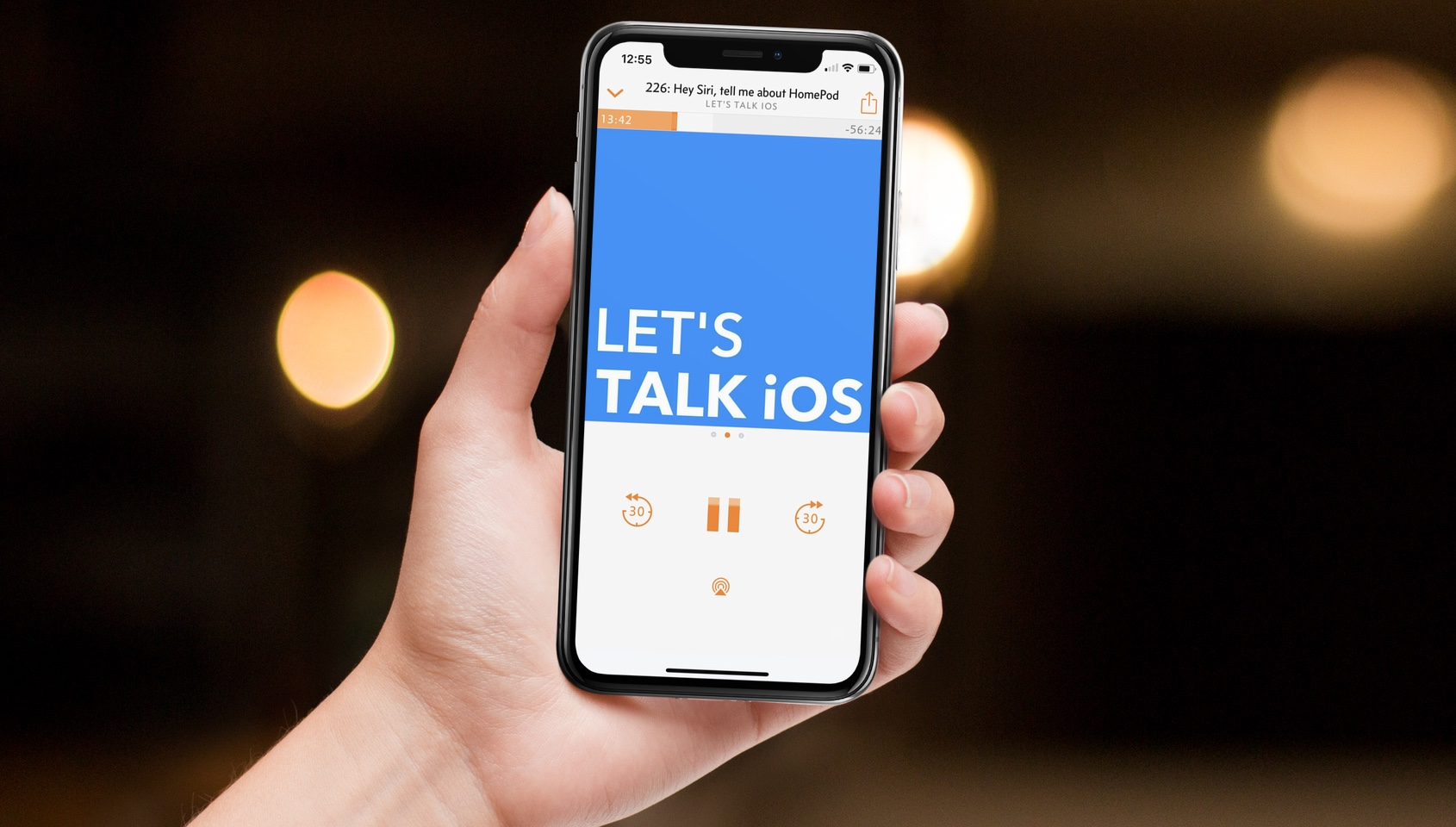 Apple Podcasts chapters - The Apple Podcasts app on iOS 12 finally features proper implementation of chapter markers that were in there before but left a lot to be desired