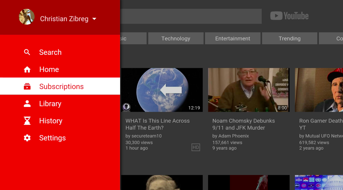 YouTube for Apple TV gains easier channel selection and