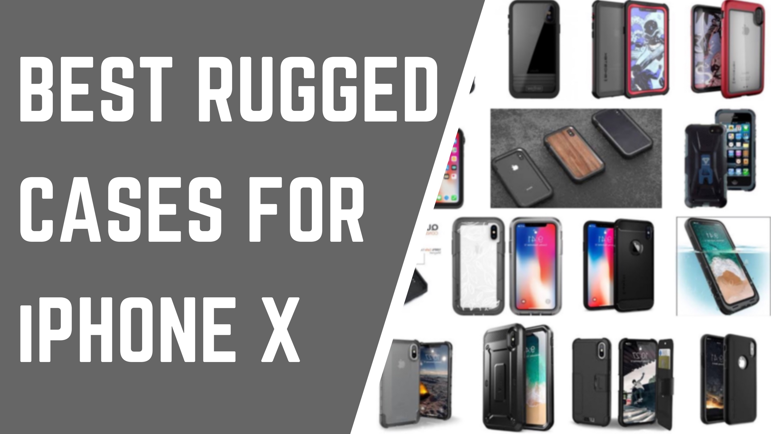 pretty nice 8865d fc79a The best rugged cases for iPhone X