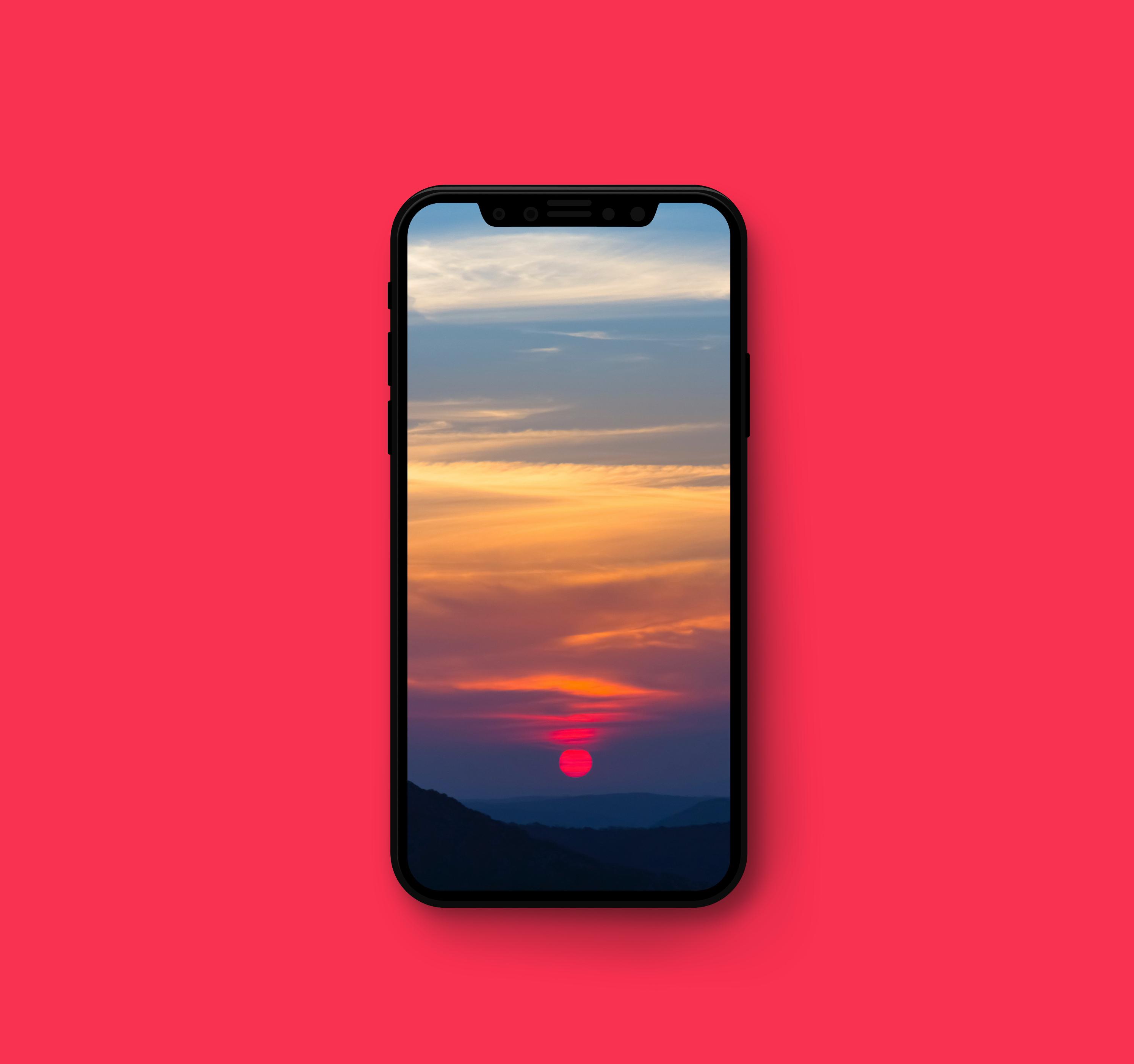 sun wallpaper iphone