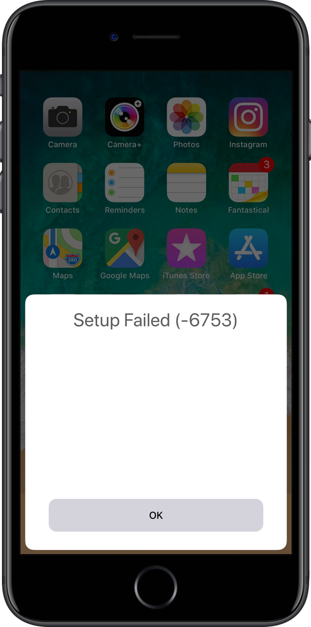 homepod automatic setup failed