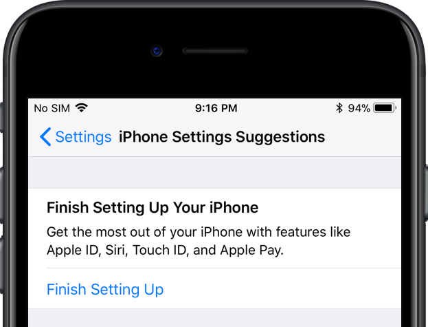 setting up new iphone how to get rid of the finish setting up your iphone prompt 8015