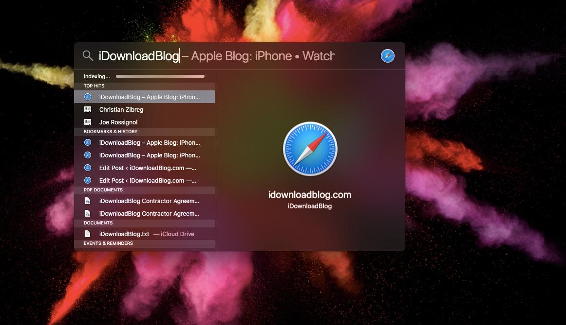How to rebuild Spotlight index on your Mac