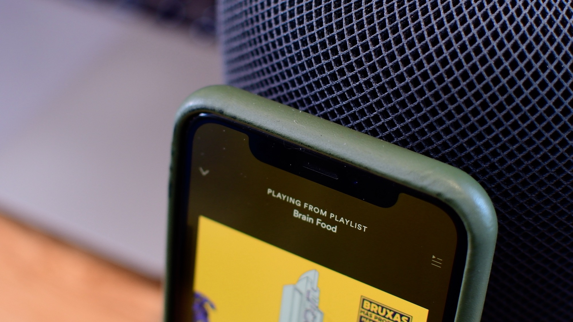 how to play spotify on homepod