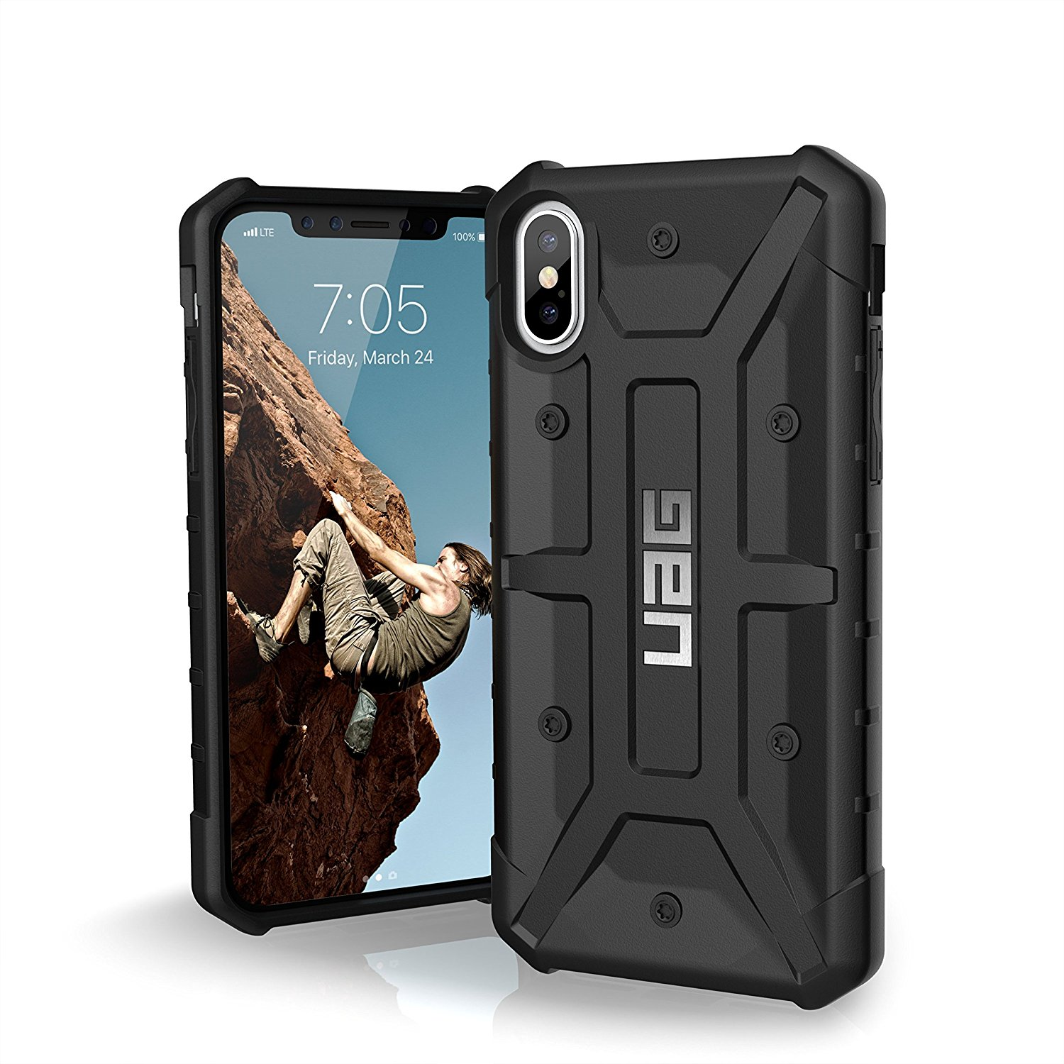 best rugged cases for iphone x - uag feather light pathfinder