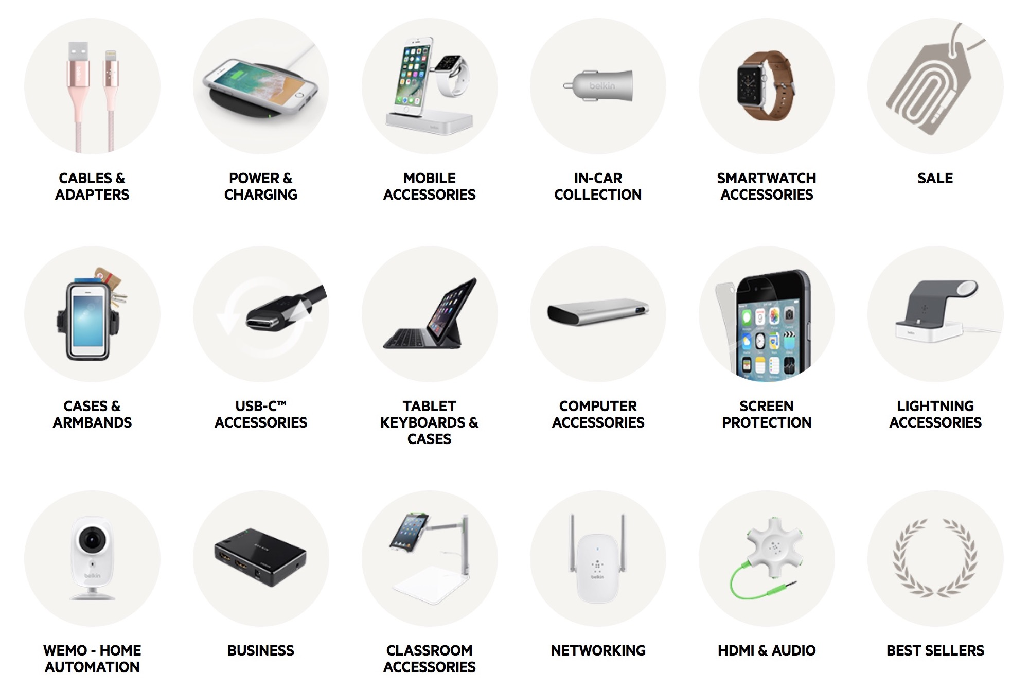 Belkin accessories