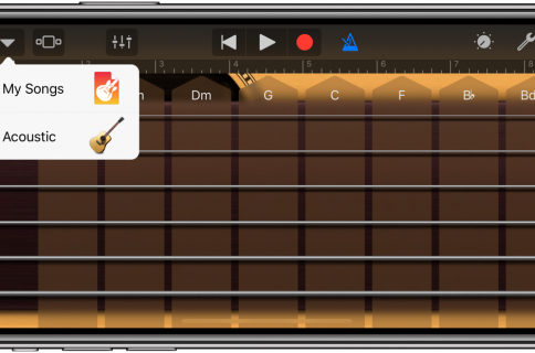 GarageBand for iOS gains iPhone X support, sound library, beats