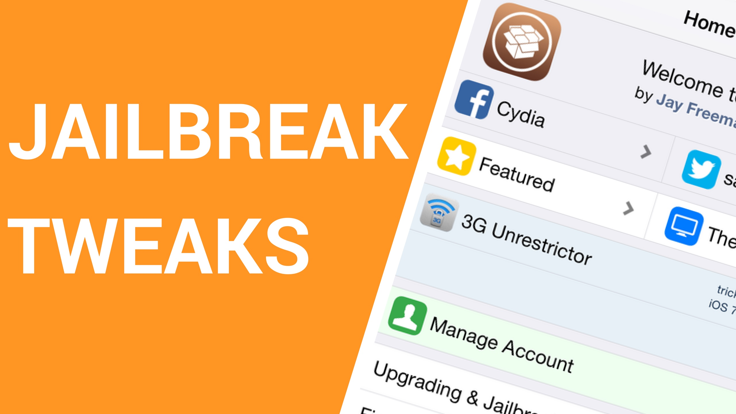 Jailbreak tweaks of the week: fastUpRepo, Fiona, and more