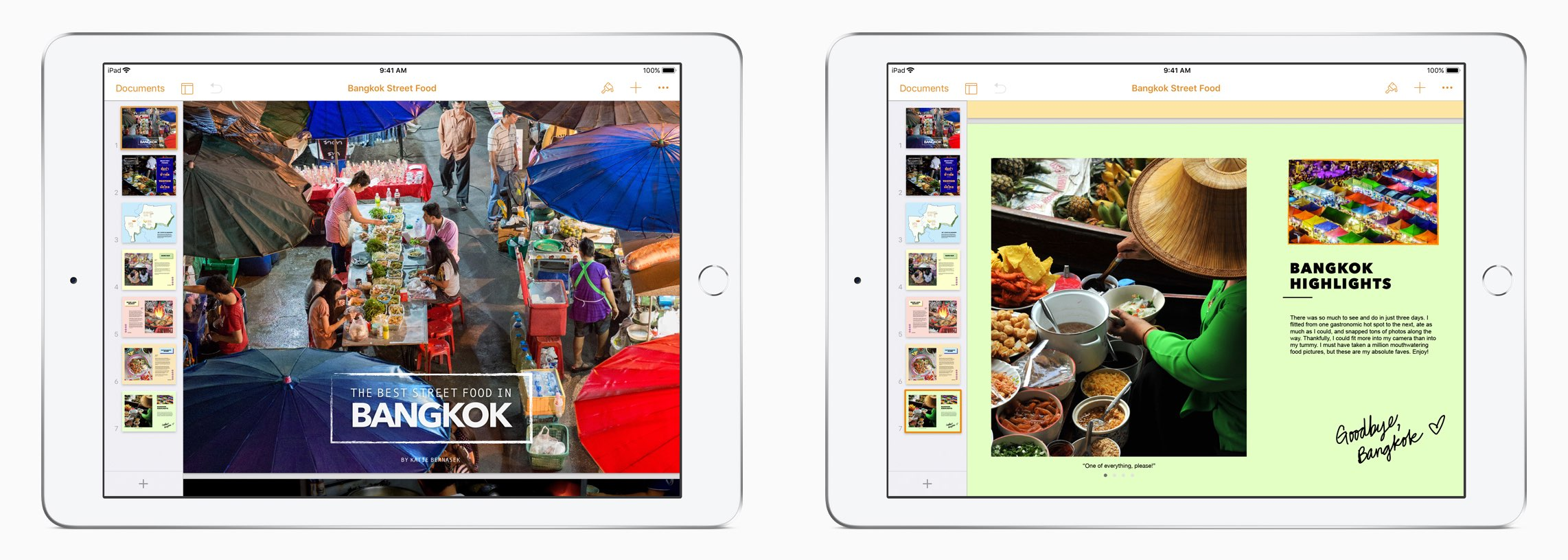iWork apps updated with Apple Pencil support, book creation