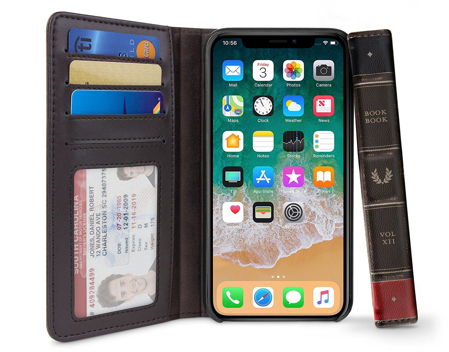 best wallet cases for iphone x - Twelve south bookbook