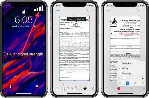 How to add an iPhone or iPad template to your screenshots
