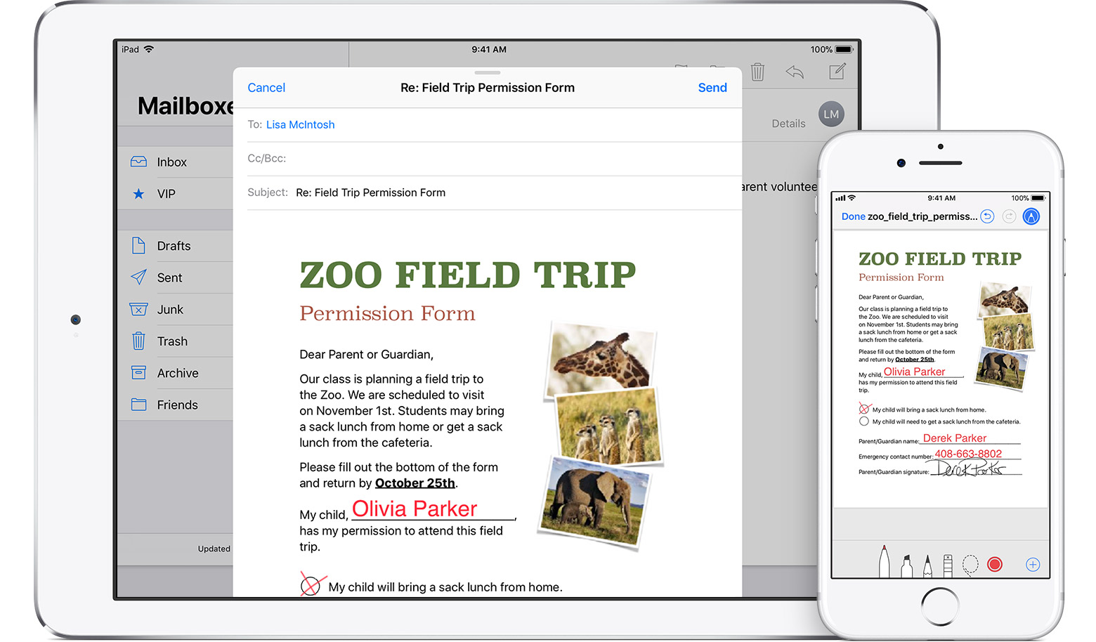 How to sign PDF documents on iPhone & iPad