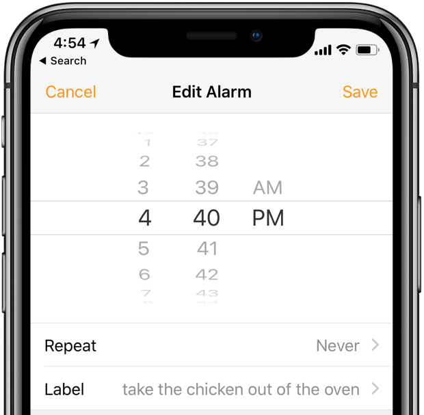How to set and manage alarms on HomePod Set An Alarm For Pm on set clock, set an 037, set phone, set timer, set top boxes, set date,
