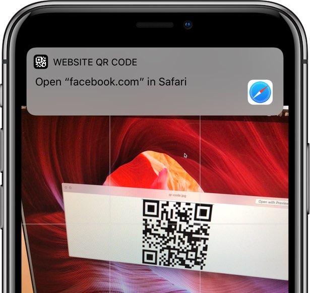 can iphone camera read qr codes