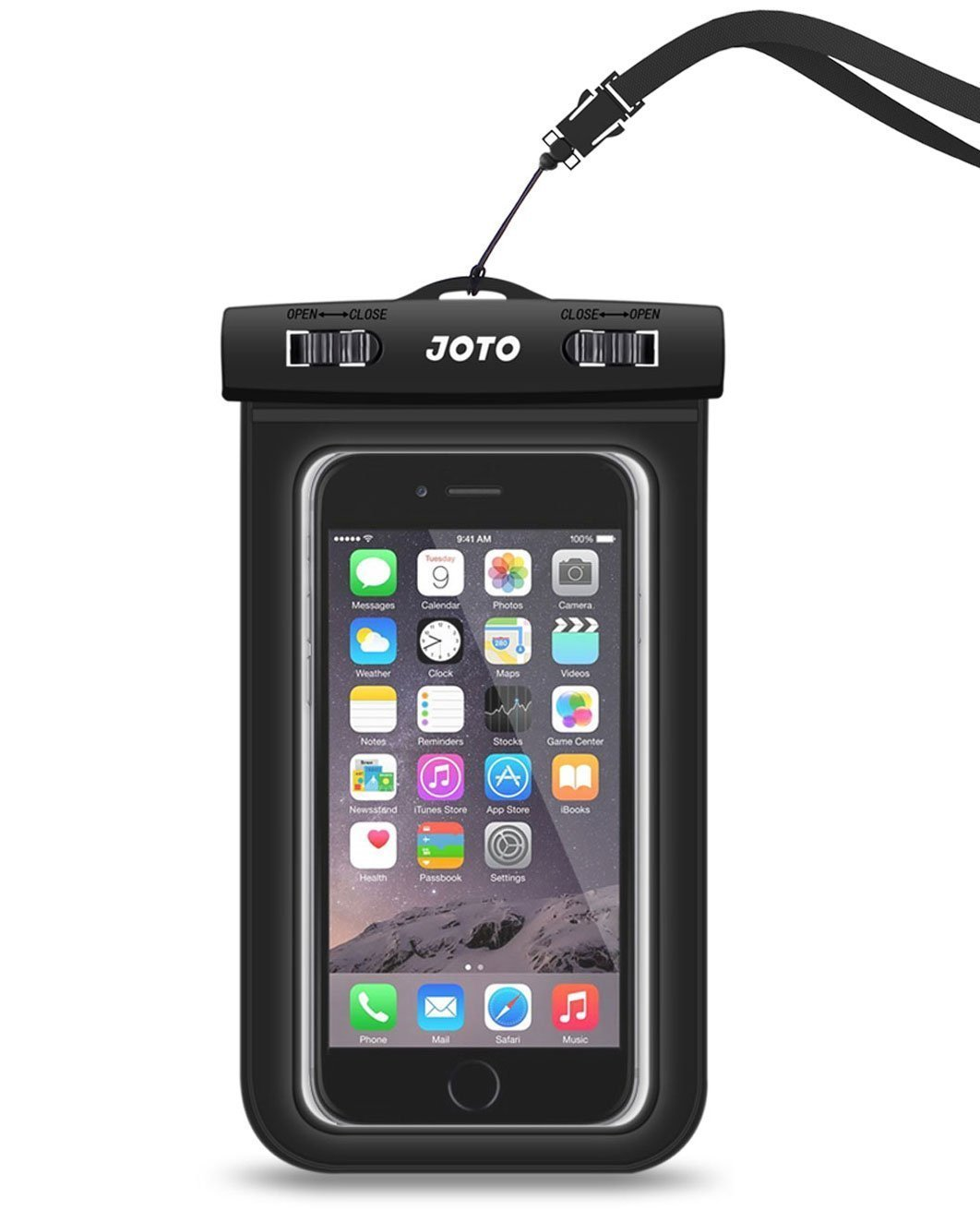 best waterproof cases iphone x - joto universal pouch