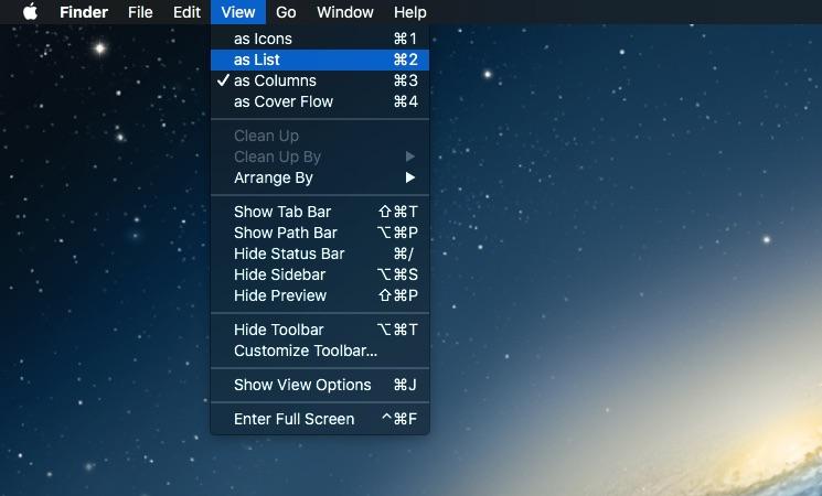 view files on Mac