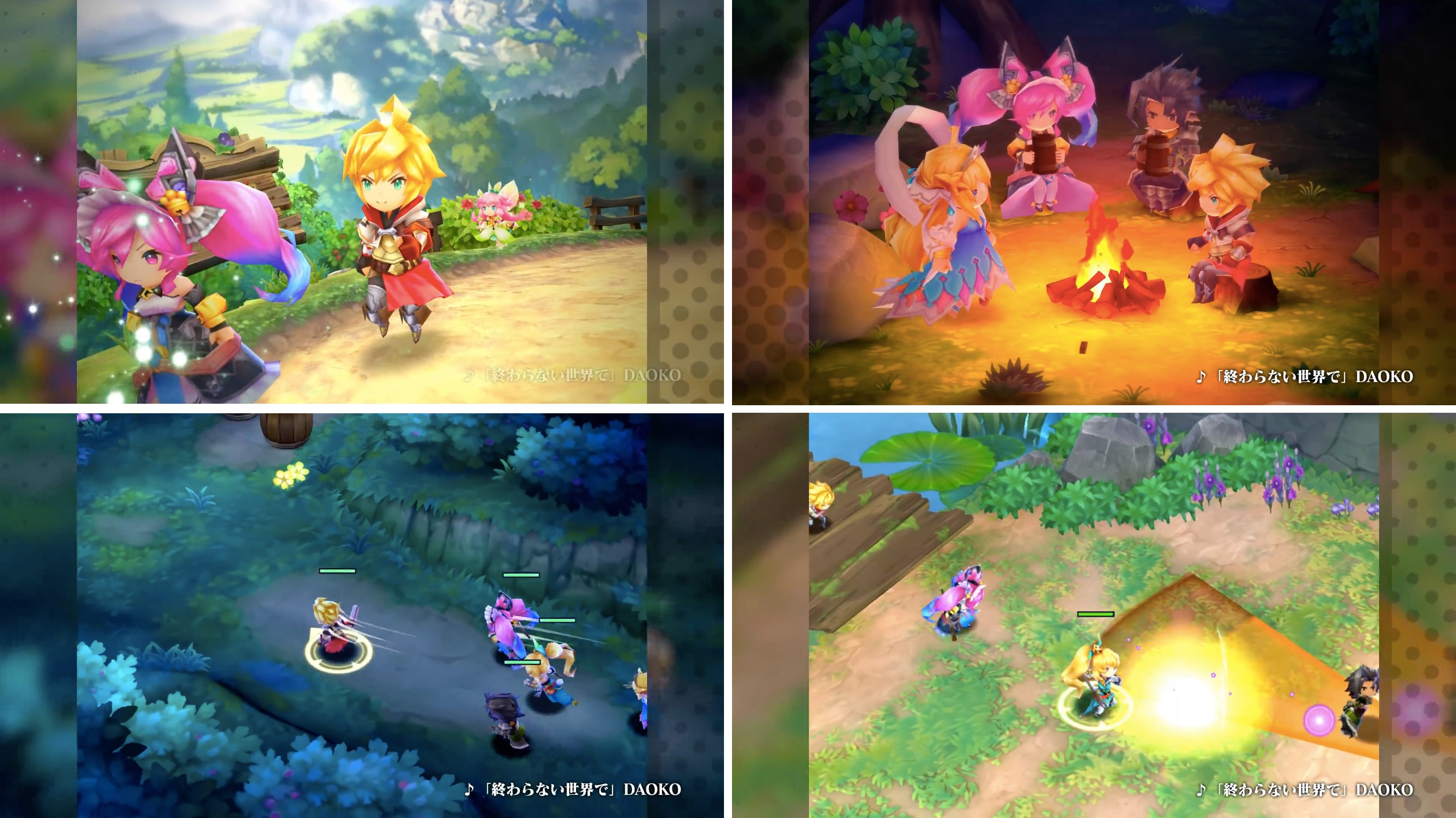 Nintendo announces original action RPG Dragalia Lost for iOS