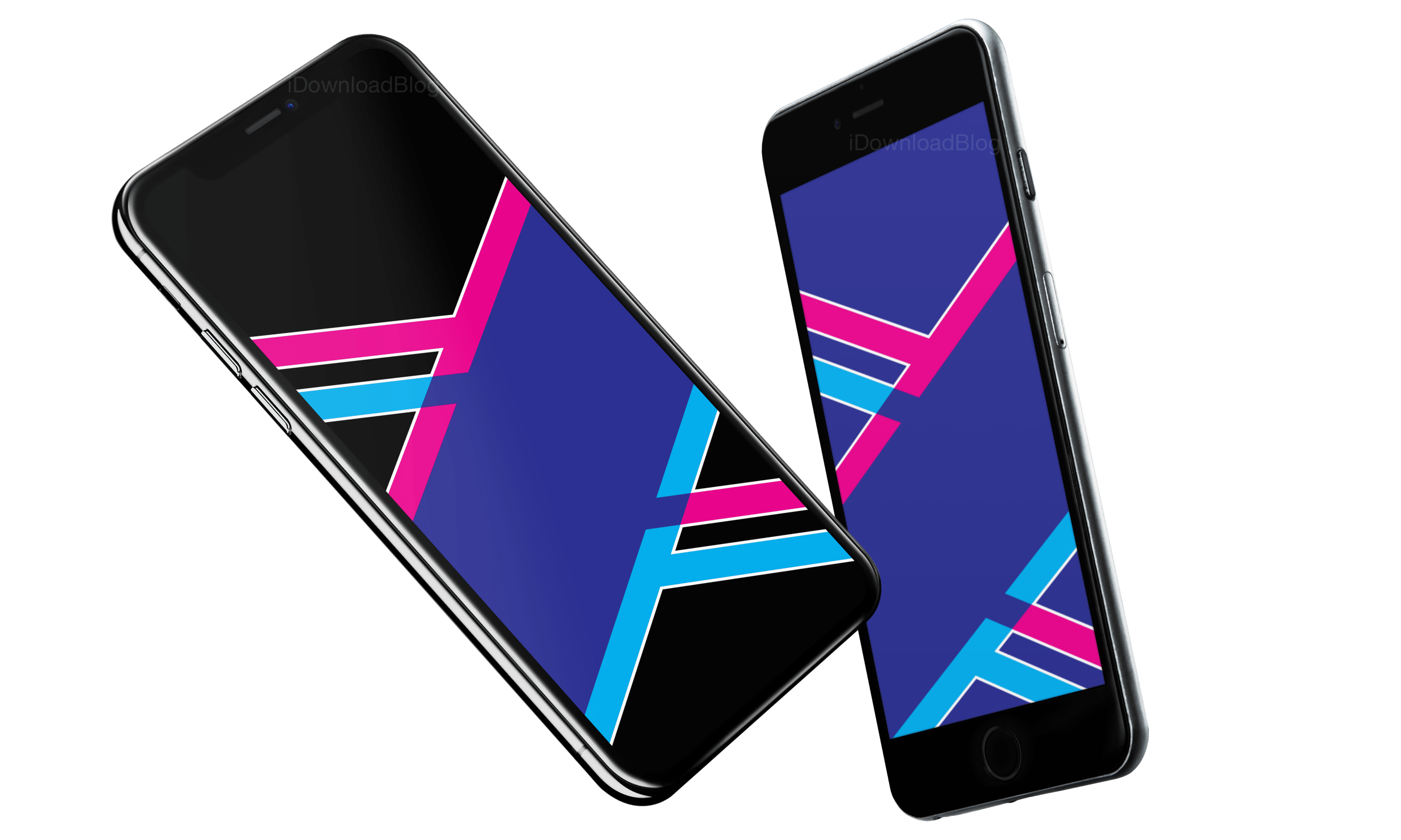 ecb4997fbef5 Download  iPhone (Plus) blue  iPhone X blue  BONUS iPhone X in true black