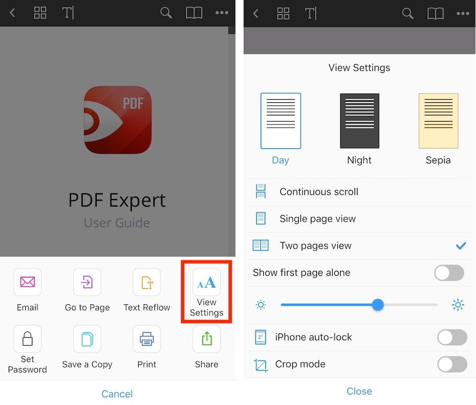 PDF Expert gets a great update with 2-page view, enhanced