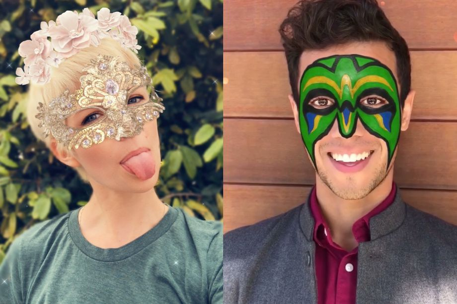 sale retailer 47b66 e6d82 Snapchat launches TrueDepth camera powered AR lenses demoed during ...