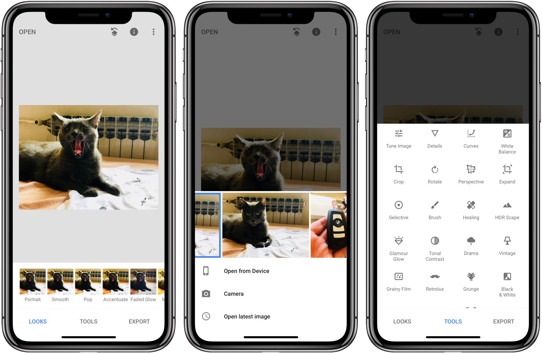 Google finally updates its Snapseed photo editor with iPhone