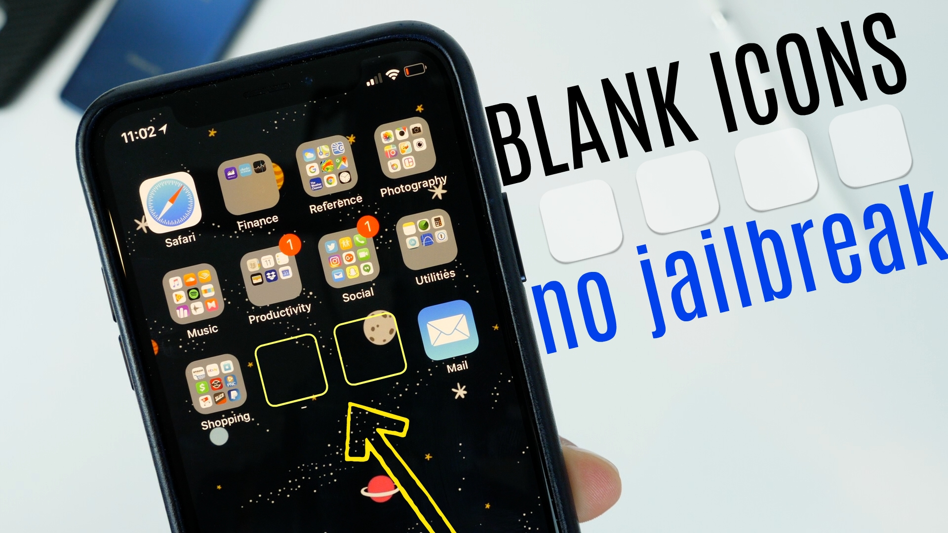 How To Create Blank Icons On Your Iphone No Jailbreak Required