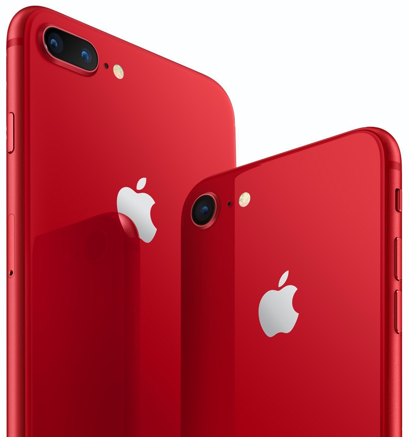 red iphone 8 cases