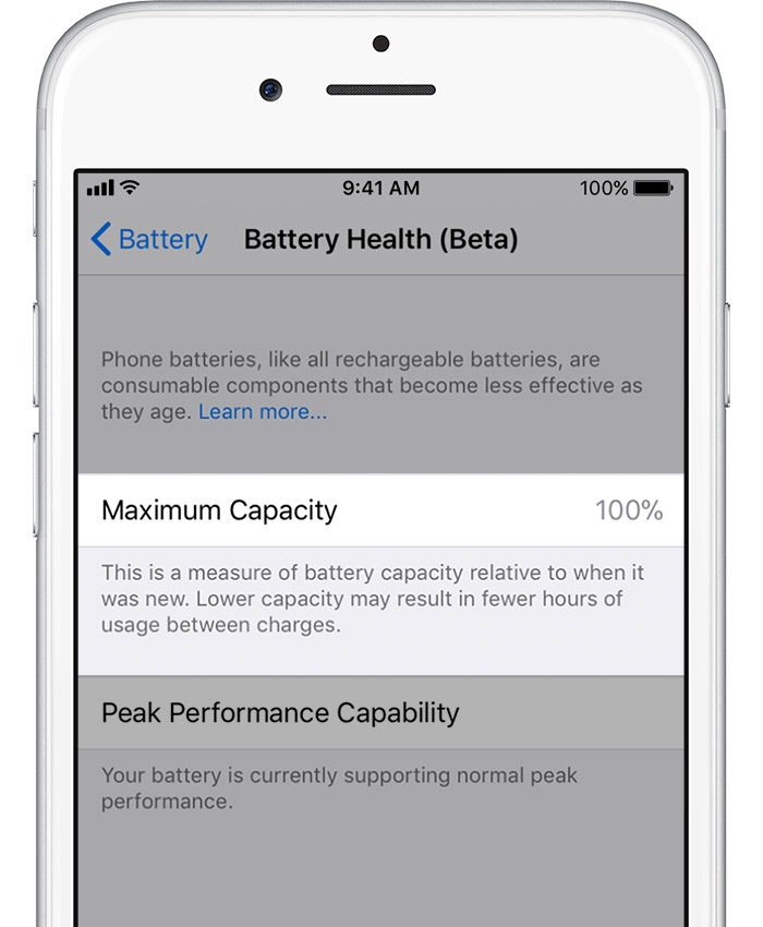 How to assess your iPhone battery health and manage CPU