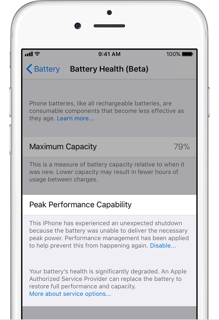 8b682c1e1a17 How to assess your iPhone battery health and manage CPU throttling
