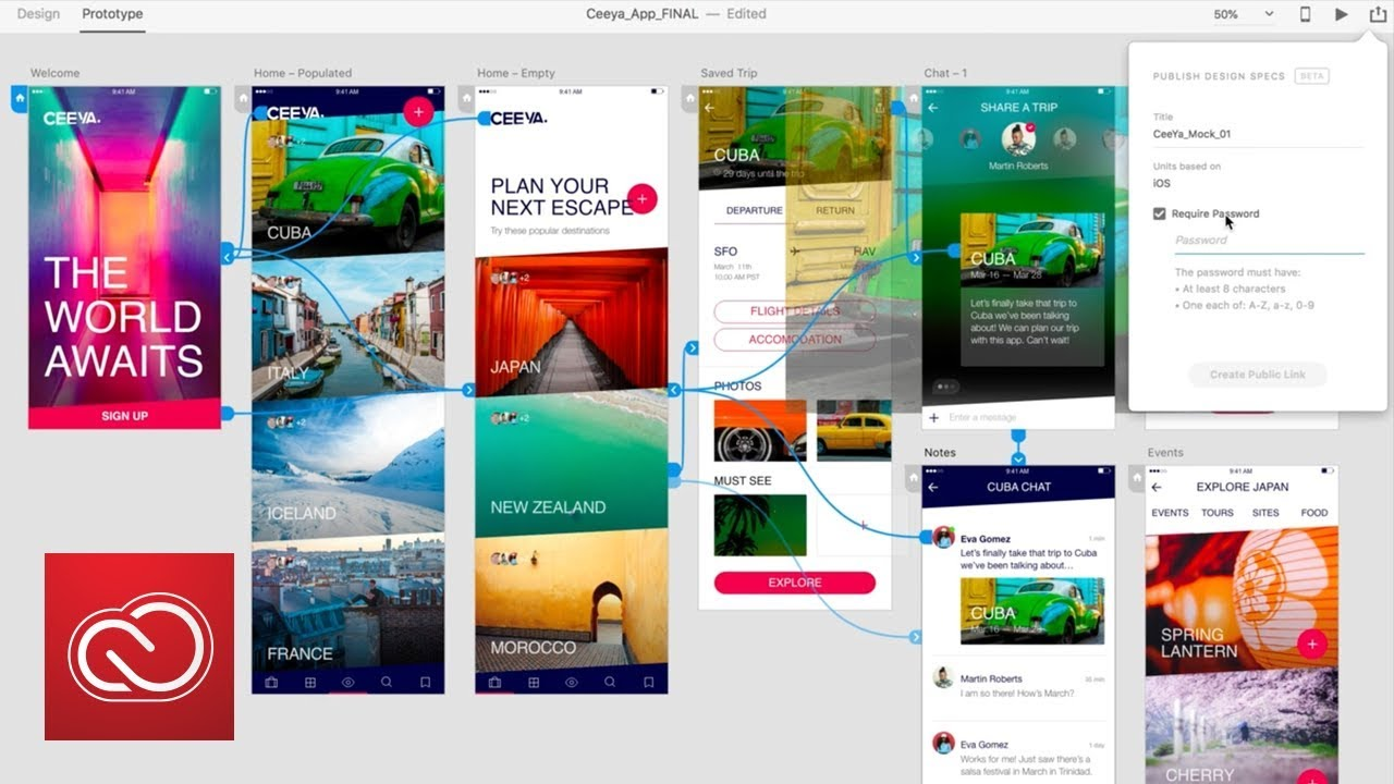 Adobe's new Starter plan offers free usage of XD design apps
