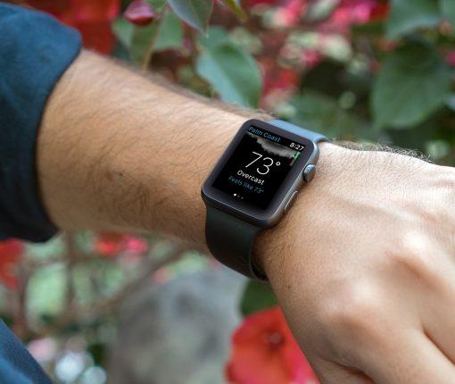 Apple Watch Weather Main Screen