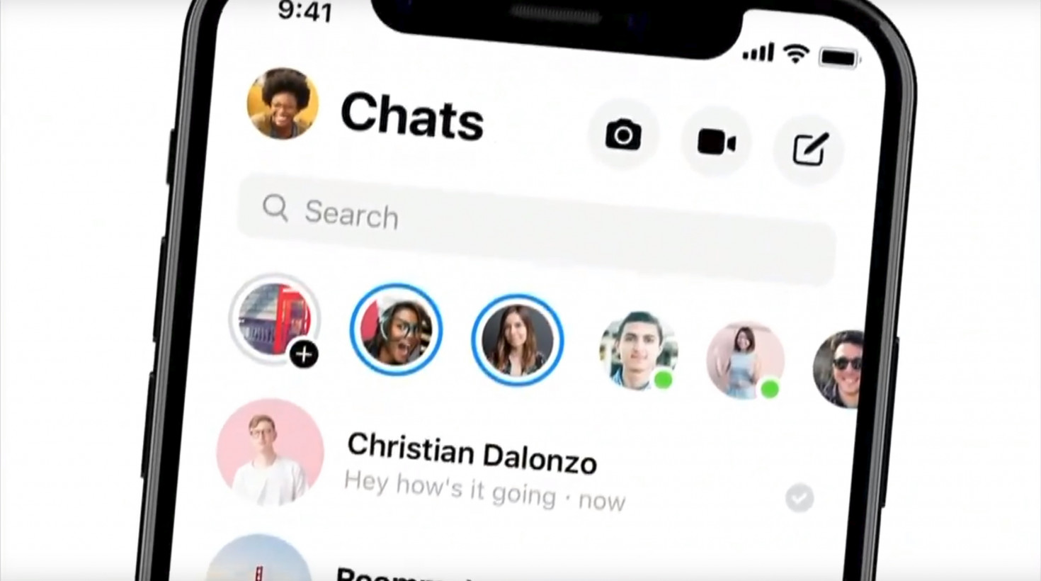 fb messenger dark mode
