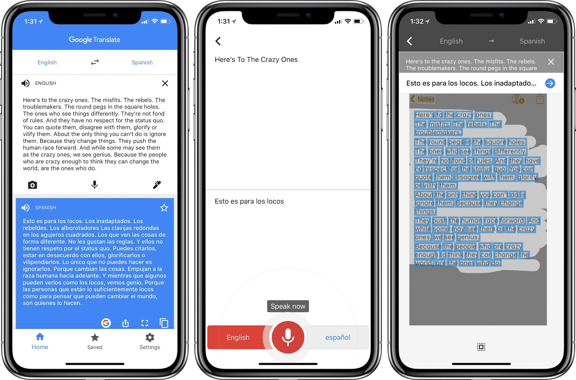 best translation apps iphone - Google Translate for iOS