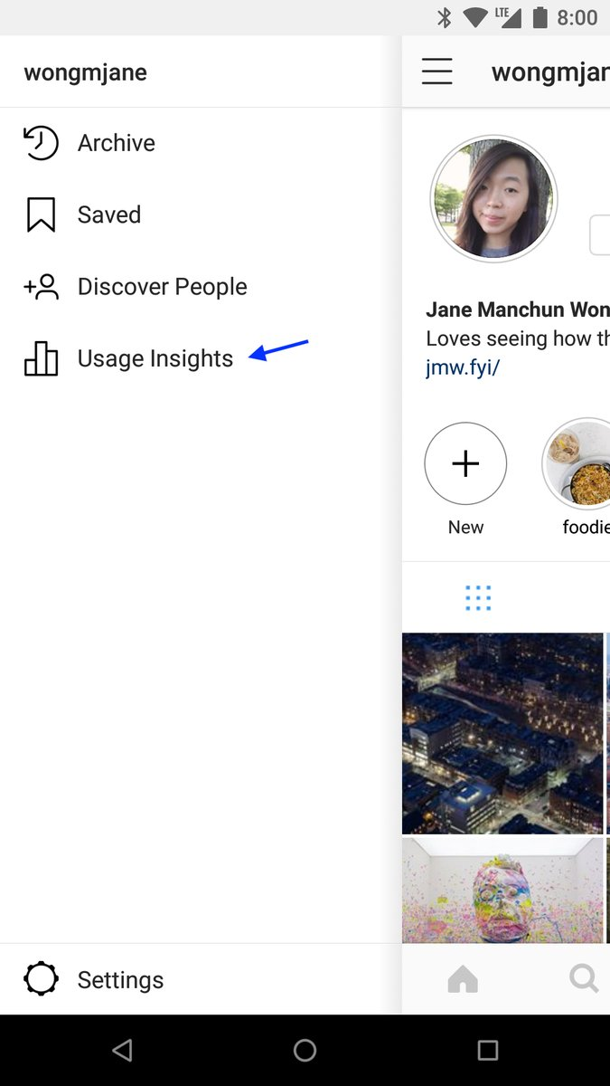 Instagram testing: new sidebar, better muting, Usage