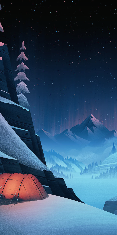 Cartoon Landscapes Wallpapers